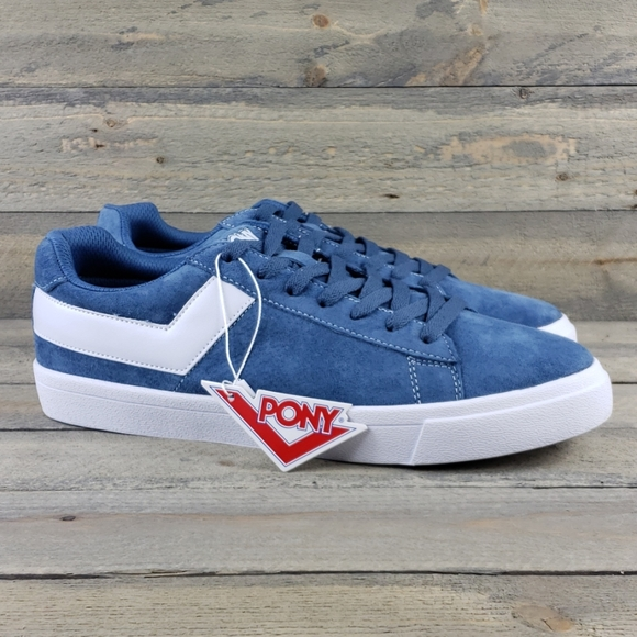 Womens Pony Classic Low Suede Leather